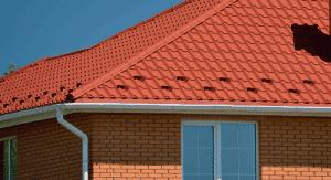Снегорез - подковка для крыши из металлочерепицы