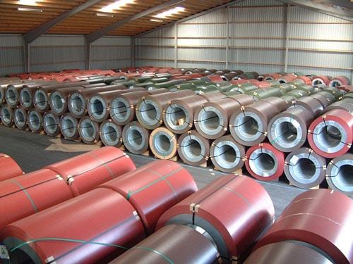 Бухта металла для металлочерепицы