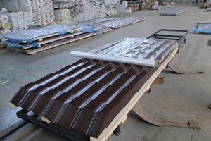 Производство металлочерепицы