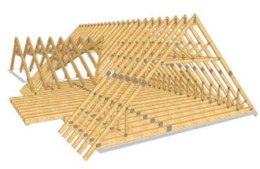 Как оборудовать стропильную систему под металлочерепицу?