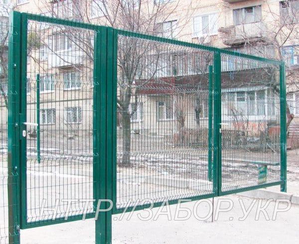 Ворота распашные Классик LX (высота 2,03 м, ширина 6 м)