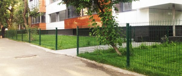 Забор секционный «Классик» h-530мм L=2500мм d-5