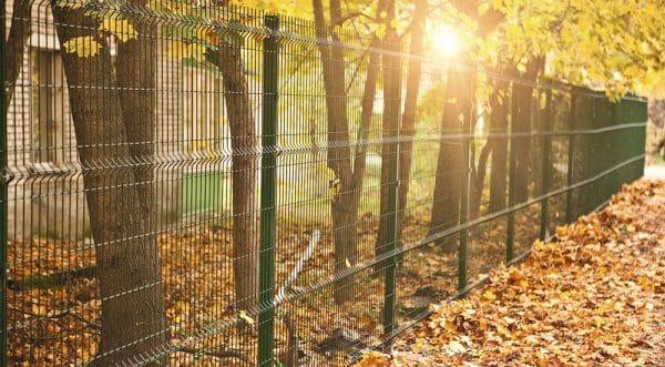 Забор секционный «Классик» h-1680мм L=2500мм d-5