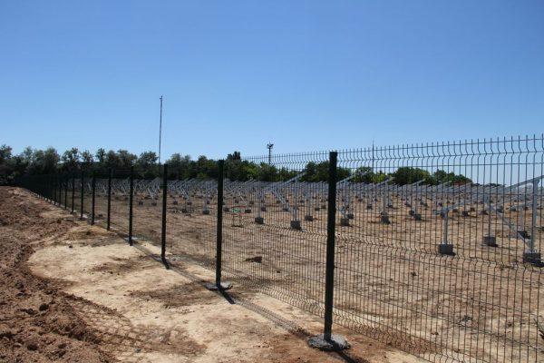 Забор секционный «Классик» h-2400мм d-5, l-3000мм