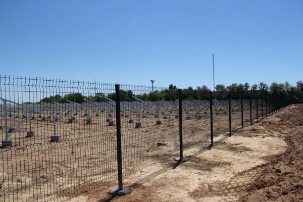 Забор секционный «Классик» h-2030мм L=2500мм d-5