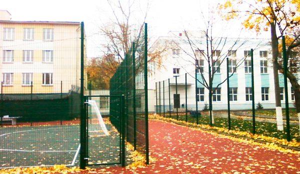 Панельный забор для спортплощадки ТЕХНА СПОРТ H-3м d 5