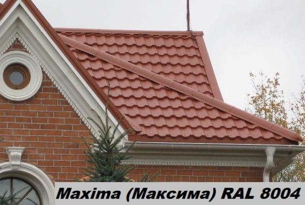 Металлочерепица Максима – Словакия 0,45 мм, PEMA