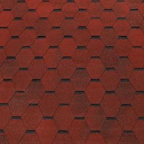 Гибкая черепица Eco Roof Hexagonal
