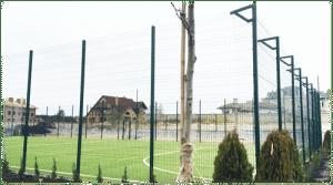 Ограждение спорт площадки