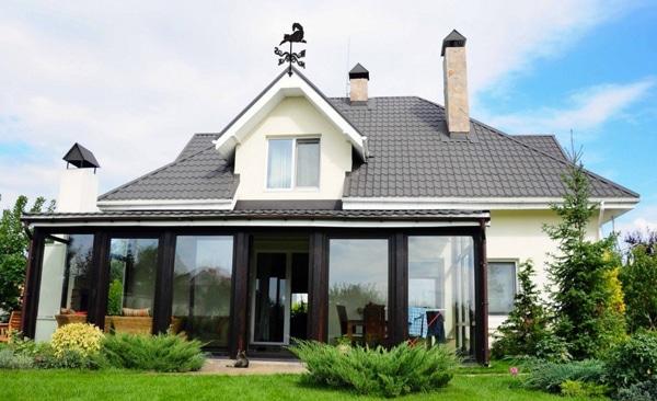 Флюгер на крышу дома