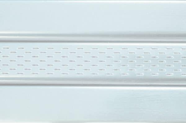 Панель соффит ASKO белая,  перфорированная, 3,5 м
