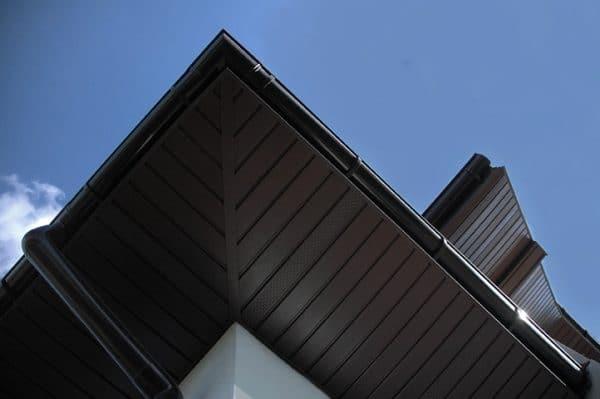 Сайдинг соффит ASKO коричневый,  панель перфорированная, 3,5 м