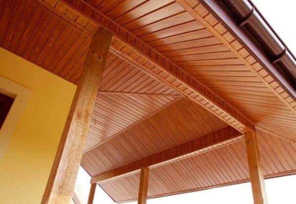 Панель соффит ASKO яблоня,  перфорированная, 3,5 м