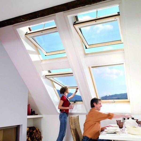 Мансардное окно Roto R45H 74×98