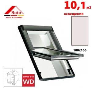 Мансардное окно Roto R65K WD 100×166