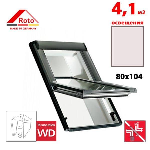Мансардное окно Roto R69G K WD 80×104