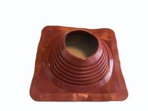 Уплотнитель для горячей трубы в кровле