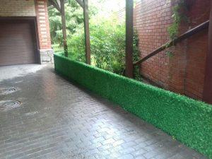 Декоративное зеленое ограждение LG — Light Green