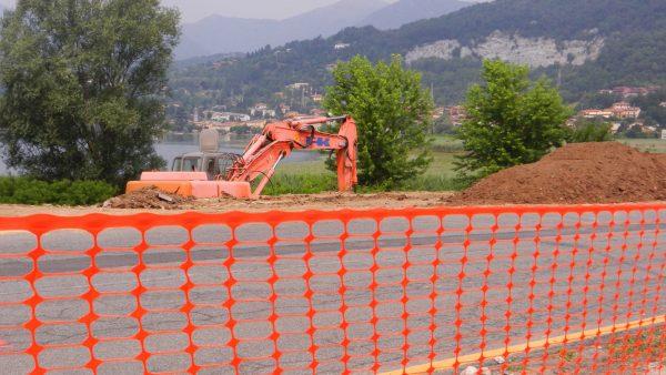 Сетка для ограждения стройплощадок NEW GRIFON оранжевая (1х50 м.п.)