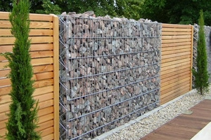 забор из габионов Купить в Киеве