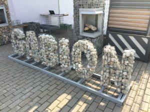буквы из габионов цена киев