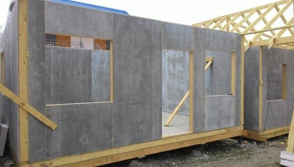 Цементно-стружечная плита BZS 1600 х 1200 х 10 мм