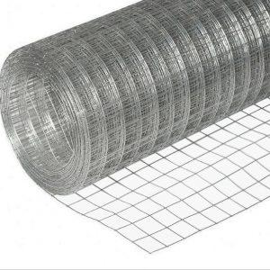 Сетка сварная (оцинкованная) яч. 50 х 50 мм / Ø 1,8 мм / h = 1,5 м