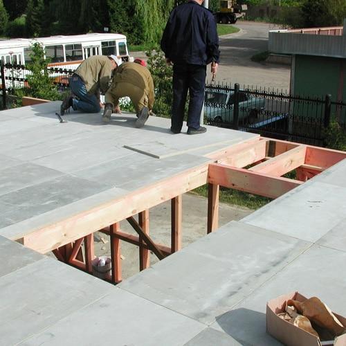 Цементно-стружечная плита БЗС 3200 х 1200 х 20 мм