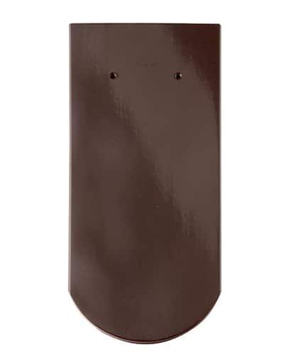 Керамическая черепица Braas Опал (покрытие- глазурь), цвета- осенный красный/каштан/тек/серый глянцевый/исиння черный