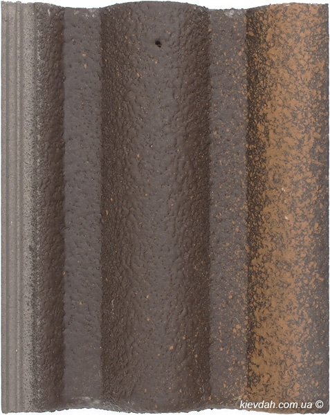 Цементно-песчаная черепица Вraas Адрия (покрытие: Slurry)