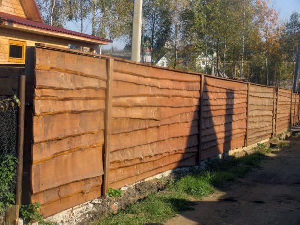"""Деревянный забор """"Щит-2"""" 2.0х2.0"""