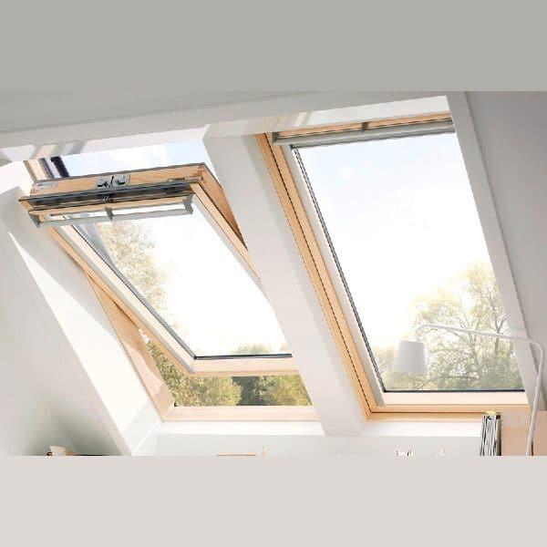 Чердачное окно Roto R48WH 65×118  (белая сосна)