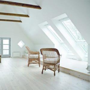 Окно для крыши Roto R48WH WD 71×146 (белая сосна)