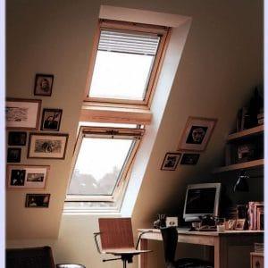 Мансардное окно Roto R45K WD KK/KG 100×146 (ламинация под дерево)