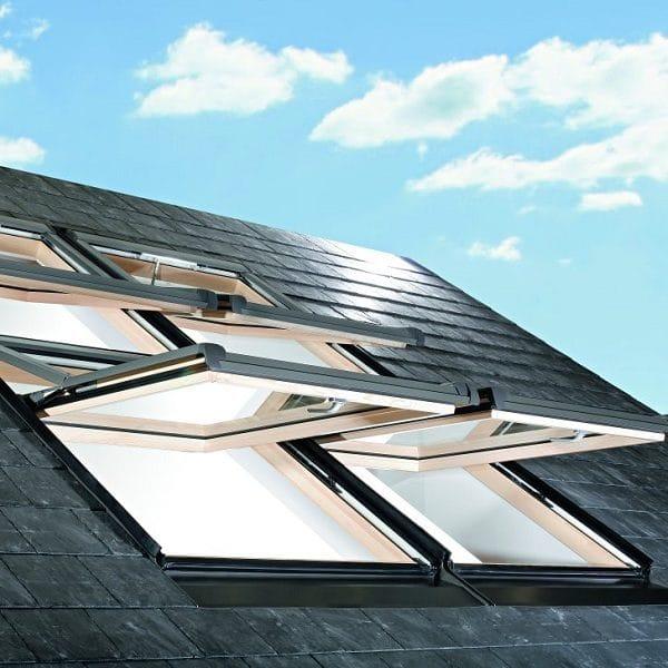 Мансардное окно Roto R45H WD 60×84