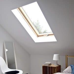 Чердачное окно Roto R69G WH WD 71×146 (белая сосна)