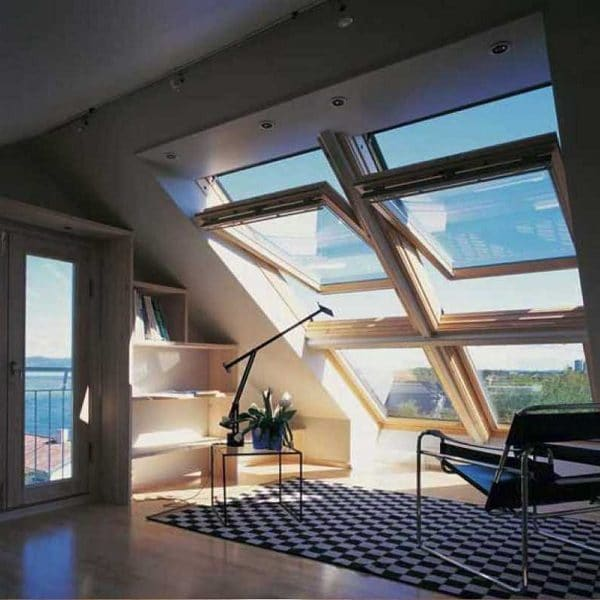 Окно для мансарды Roto R65K WD 80×166