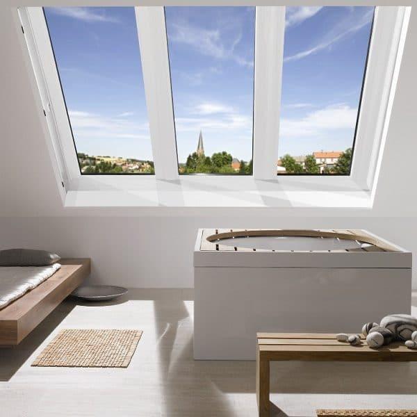 Мансардное окно Roto R48K 74×118