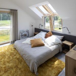 Окно для крыши Roto R65K WD KK/KG 80×124 (ламинация под дерево)