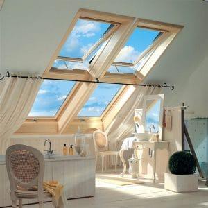 Окно для мансарды Roto R45H WD 80×124