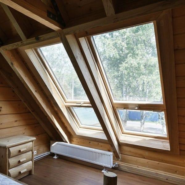 Мансардное окно Roto R48H 54×118