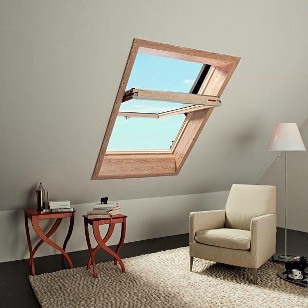 Мансардное окно Roto R45K 74×140