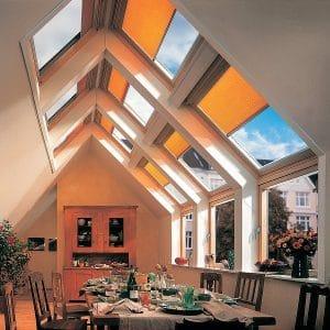 Окно на крышу Roto R45WH 54×118 (белая сосна)