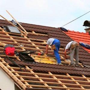 """Монтаж композитной черепицы – сложная крыша """"Под ключ"""" (без утепления)"""