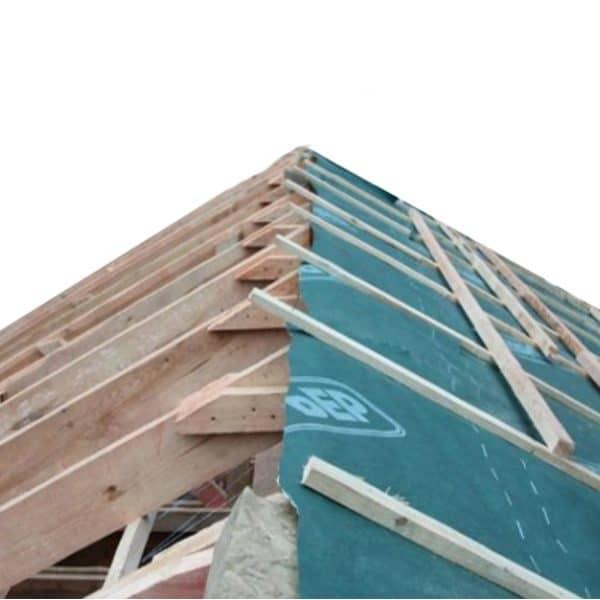 Евробарьер ™ F150 – дренажная подкровельная мембрана для скатных крыш с фальцевым покрытием