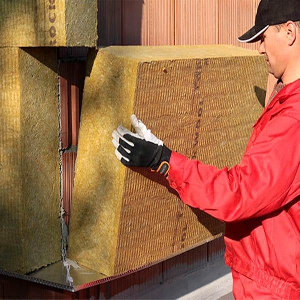 Утепление фасада минеральной ватой 150 мм (без финишного покрытия)