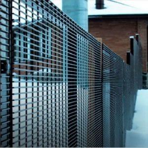 """Забор из секций """"ЩИТ"""" d=5,0мм, 2430х2500 мм"""
