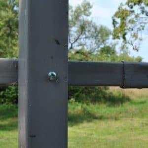 Столб из профиля  ДЕКО (рядовой) 2000 мм