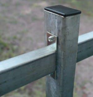 Столб из профиля  ДЕКО (конечный) 2500 мм