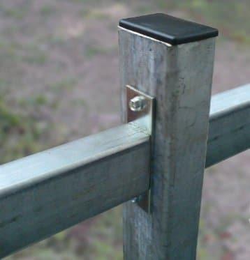 Столб из профиля  ДЕКО (конечный) 2000 мм
